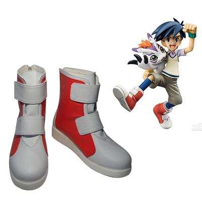 Digimon Adventure Joe Kido Faschings Stiefel Cosplay Schuhe