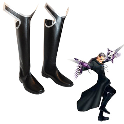 Kingdom Hearts Organization XIII Xigbar Faschings Stiefel Cosplay Schuhe