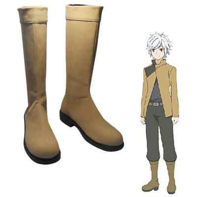 Is It Wrong to Try to Pick Up Girls in a Dungeon? Bell Cranel Cosplay Scarpe Carnevale