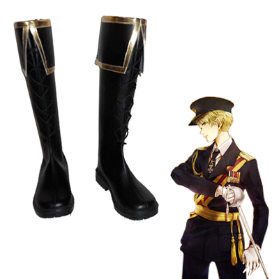 Axis Powers Hetalia Arthur Kirkland UK Bottes Carnaval Cosplay