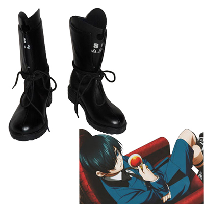 Black Butler Ciel Phantomhive Cosplay Boots UK