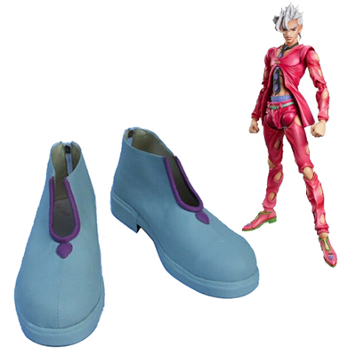 JoJo's Bizarre Adventure Pannacotta Fugo Cosplay Shoes