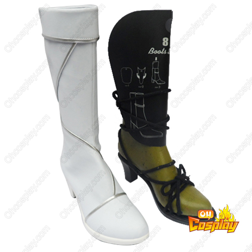 Touhou Project Hakurei Reimu Cosplay Boots