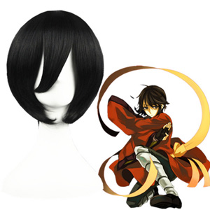 Axis Powers Hetalia Aberdeen Black 35cm Fashion Cosplay Wigs