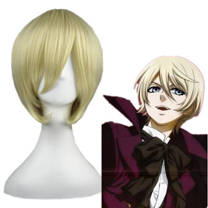 Black Butler AloisTrancy Pale Gold 35cm Cosplay Wigs