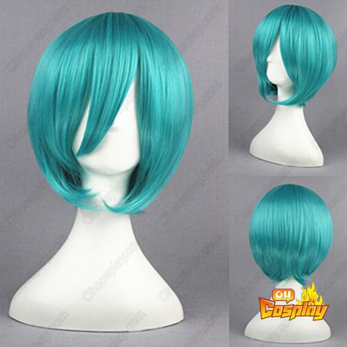 Vocaloid Mikuo Зелен 35cm Косплей перуки
