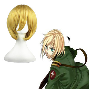 Axis Powers Hetalia Vash·Zwingli Golden 32cm Cosplay Wigs