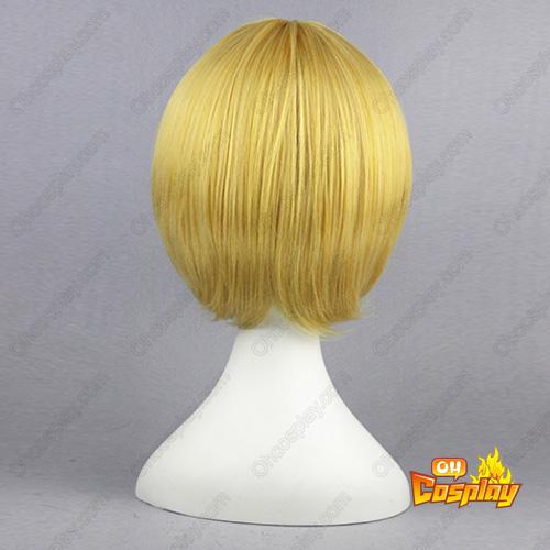 Black Butler Alois Trancy Golden 32cm Cosplay Wigs