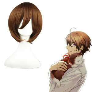 Axis Powers Hetalia Roderich Edelstein Marrone 32cm Parrucche Cosplay