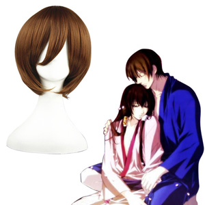 GetBackers Jianshibingwei Brown 32cm Cosplay Wigs