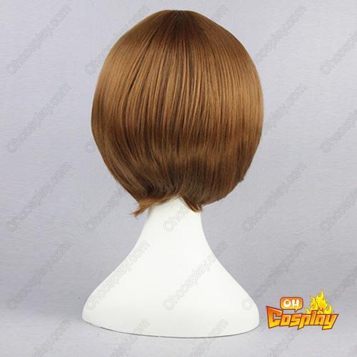 GetBackers Jianshibingwei 갈색 32cm 코스프레 가발