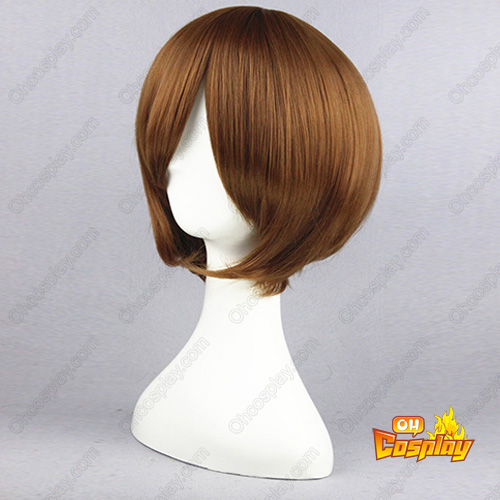 The World God Only Knows Keima Katsuragi Marrom 32cm Perucas Cosplay