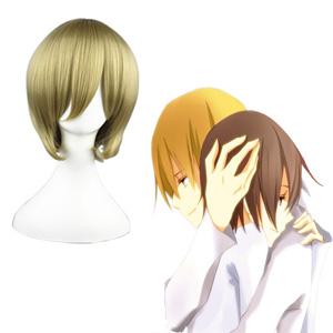 Durarara!! Mikajima Saki Flaxen 32cm Cosplay Wig