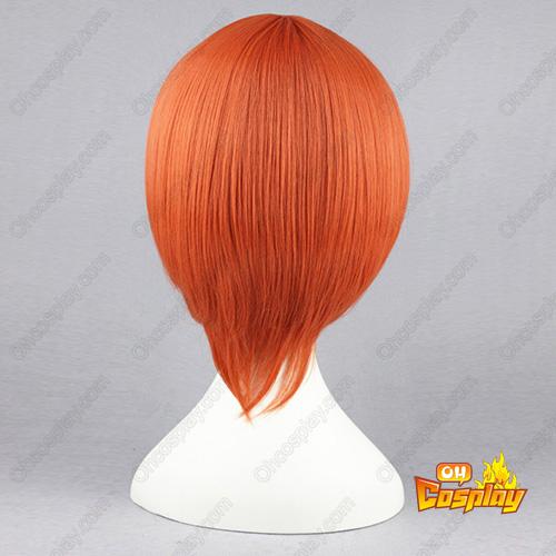 Angel Beats! Otonashi Yuzuru Оранжев 35cm Косплей перуки
