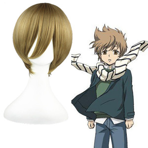 Code Geass Rolo Lamperouge Flachsfarben 35cm Faschings Cosplay Perücken