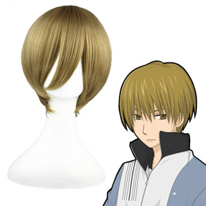 Death Note Yagami Light Flachsfarben 35cm Cosplay Perücken