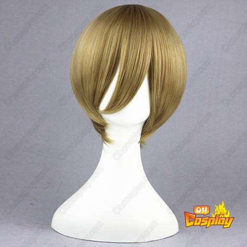 테니스의 왕자 Hiyoshi wakashi 아마 같은 35cm 코스프레 가발