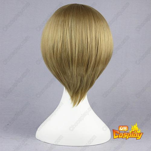 Gin Tama Okita Sougo Flaxen 35cm Cosplay Wigs