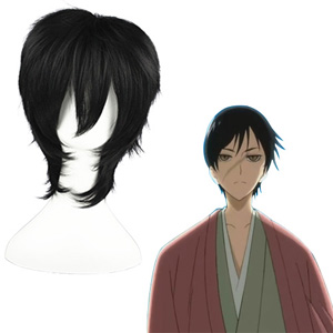 Nura: Rise of the Yokai Clan Tamazuki Black Fashion Cosplay Wigs