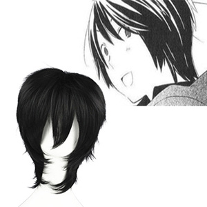 Kimi to Boku Akira Black Fashion Cosplay Wigs