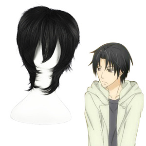 Sekai-ichi Hatsukoi Kisa Shyouta Black Fashion Cosplay Wigs