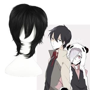 UN-GO Shinjuurou Yuuki Black Cosplay Wig