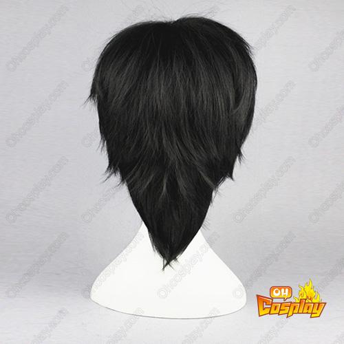 UN-GO Shinjuurou Yuuki 검은 코스프레 가발