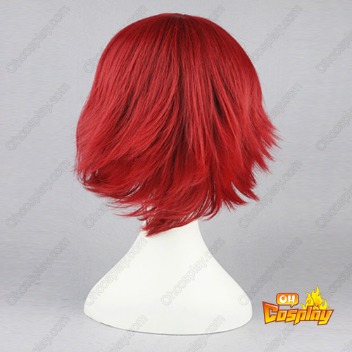 Code Geass Lelouch of the Rebellion Kallen Stadtfeld Wine Vermelho Perucas Cosplay