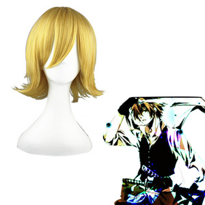 Dolls Kamijou Mili Golden Cosplay Wigs