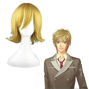 La Corda d'Oro Corda-Primo Passo KaJi Aoi Golden Cosplay Wig