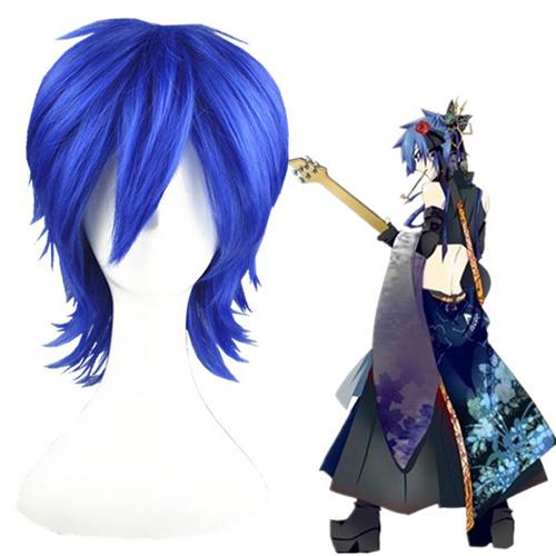 Vocaloid kaito Blau 35cm Cosplay Perücken