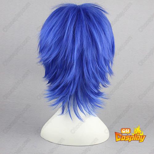 Vocaloid kaito Blauw 35cm Cosplay Pruiken