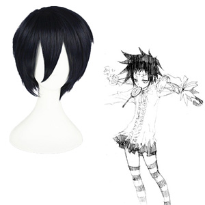 D.Gray-man Road Kamelot Navy 35cm Cosplay Pruiken