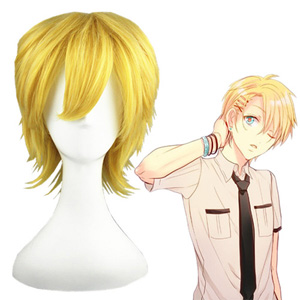 Kingdom Hearts Ventus Golden 32cm Cosplay Wigs