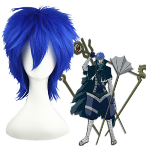 Vocaloid 龙ノ啼 Blue 32cm Cosplay Wigs