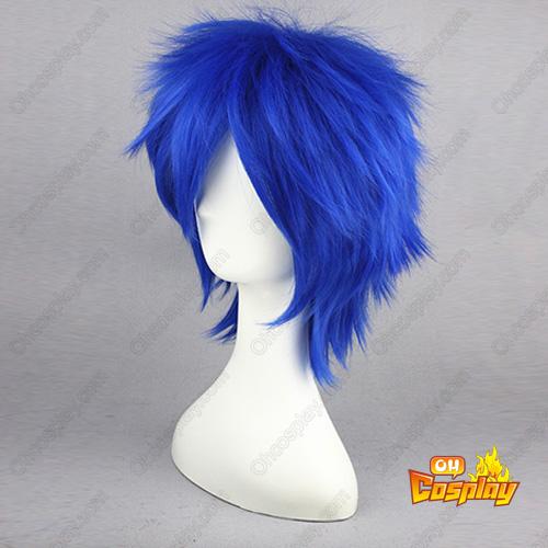 Vocaloid Ryuu no Naku Hakoniwa Yori Blue 32cm Cosplay Wigs