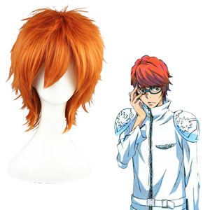 Hitman Reborn Irie Shouichi Orange Cosplay Wig