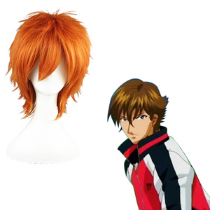 The Prince of Tennis City in southern Hunan Wakato Hirosh D'orange Perruques Carnaval Cosplay