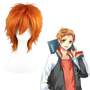 Starry☆Sky Haruki Naoshi Orange Fashion Cosplay Wigs