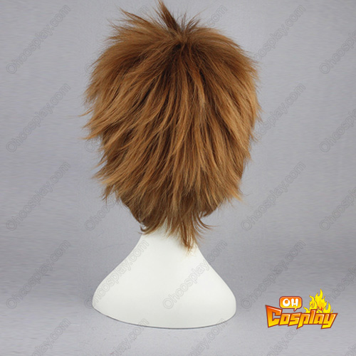 Naruto Inuzuka Kiba Brown Cosplay Wig
