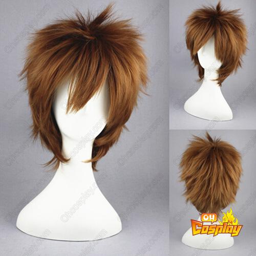 세계 제일의 첫사랑 Yanase Yuu 갈색 코스프레 가발