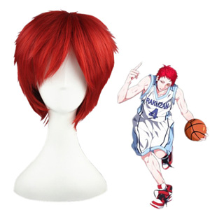 Kuroko's Basketball Akashi Seijuro Red Fashion Cosplay Wigs