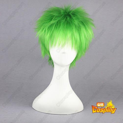 골든 Strings Hihara Kazuki Mixed emerald 32cm 코스프레 가발