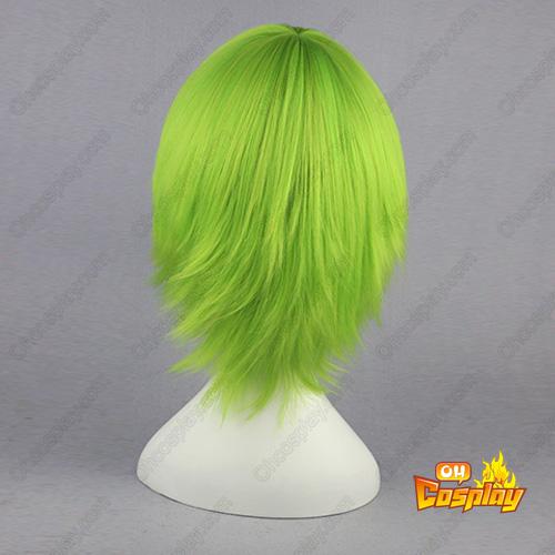 grim Reaper Vizards Kuna Mashiro light Verde 32cm Perucas Cosplay