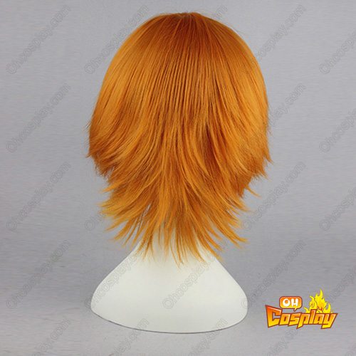 Sun slippery Ghost Mixed Marrom 32cm Perucas Cosplay