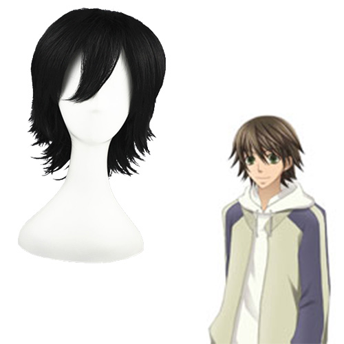 Innocent Romance Misaki Takahashi Black 32cm Fashion Cosplay Wigs