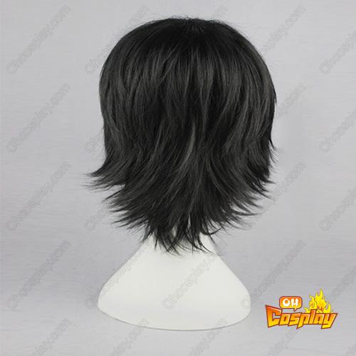 로젠 메이든 Sakurada pure 검은 32cm 코스프레 가발