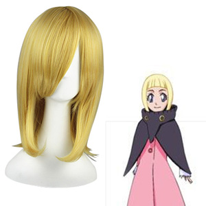 Bleach Lilin Pale Gold 45cm Cosplay Wigs