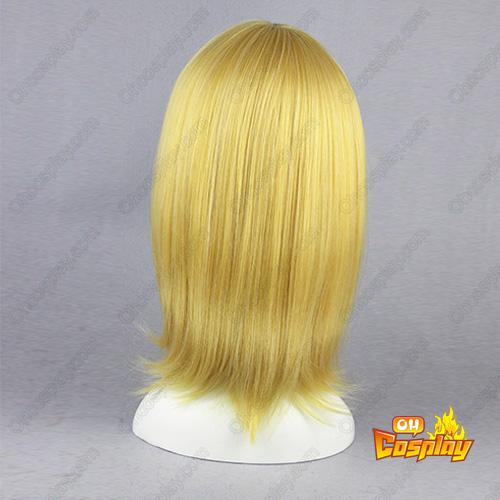 블리치 Lilin 창백한 골드 45cm 코스프레 가발