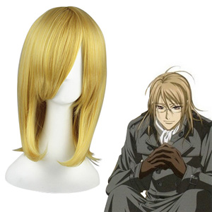 Vampire Knight Kaien Cross Bleek Goud Cosplay Pruiken